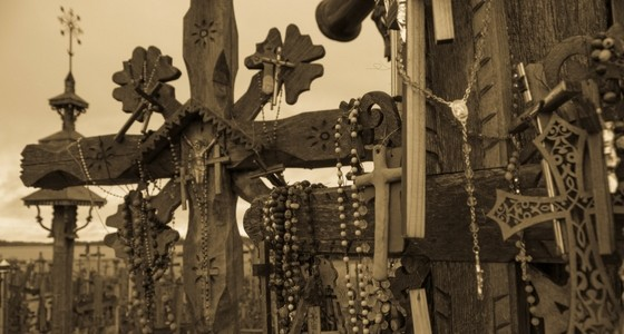 Riga & Hill of crosses i Litauen