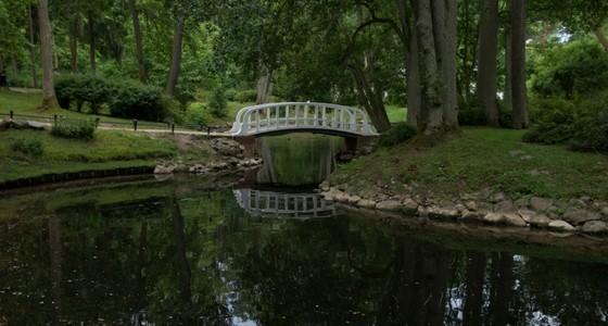 Palangas botaniska trädgård och litauisk kroppkaka