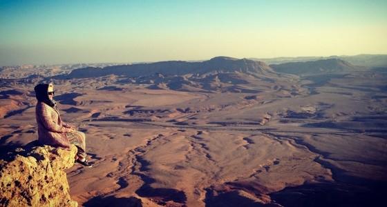 Jerusalem, Döda havet och en fantastisk krater