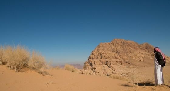 Wadi Rum i vackra Jordanien