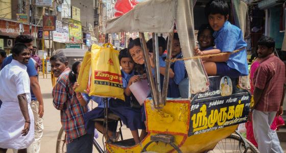 TillbakablicksTorsdag – Tamil Nadu, Indien del 1