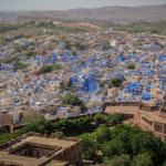 Jodhpur, den blå staden