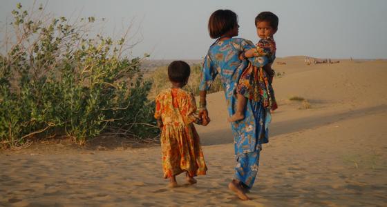 TillbakablicksTorsdag – Kamelsafari i öknen, Indien del 5