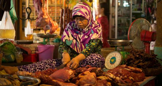 Siem Reap – 6 foton från marknaden Psar Chas