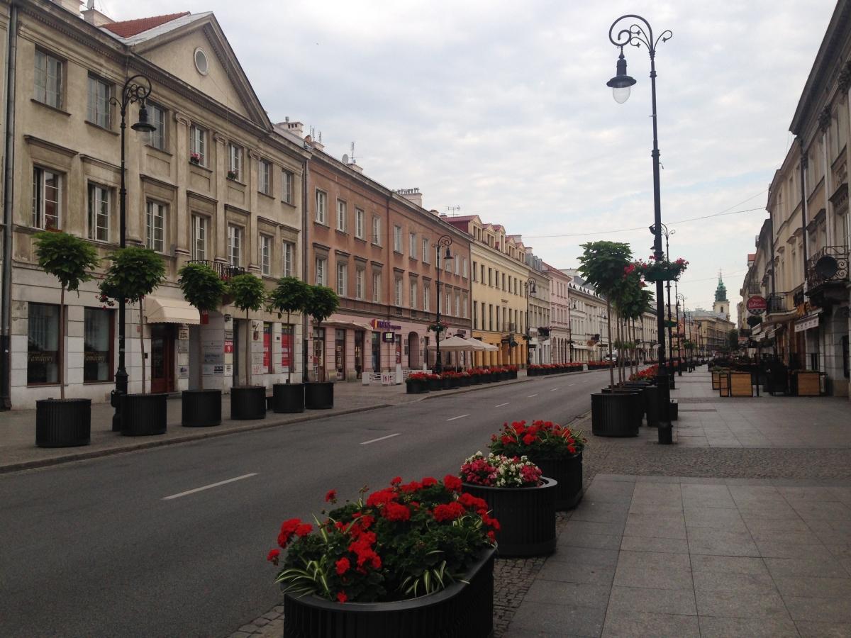 Gatan upp mot gamla staden